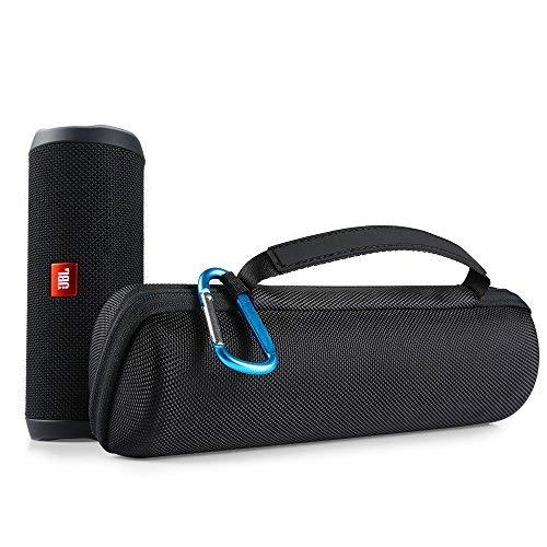 Poschell JBL Flip 4 Lautsprecher Tasche Hülle Case Hart EVA Tragetasche mit Reißverschluss