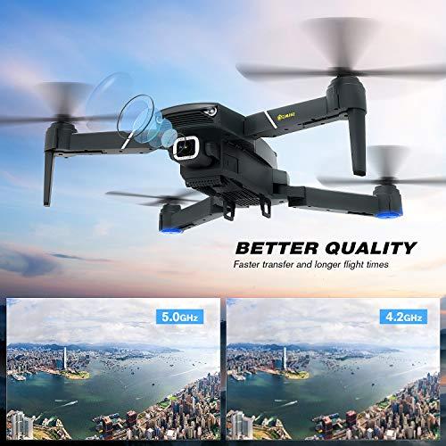 EACHINE E520S Drone con Camara HD Drone 4k Drone GPS Drones con Camaras Profesional 5G WiFi FPV App Distancia de FPV de 250 m Drone Largo Tiempo de Vuelo Drone 16 Minutos Drone Plegable RC Drone