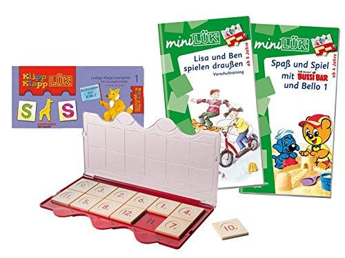 Preisvergleich Produktbild Lernspiel-Set miniLÜK / KlippKlappLÜK