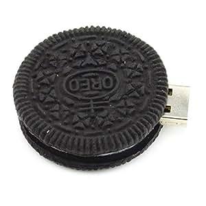 iMark 16 Go Cookie Ronde USB 2.0 Clé USB (Noir) - la Nourriture Série