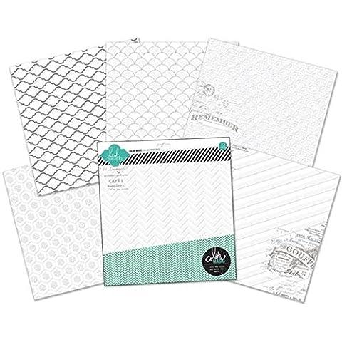 American Crafts-Confezione di carta per decorazioni Color Resist-30 x 30 cm, 12 kg-