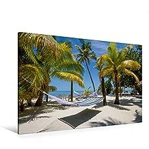 Premium Textil-Leinwand 120 cm x 80 cm quer, FLORIDA KEYS Himmlischer Ort   Wandbild, Bild auf Keilrahmen, Fertigbild auf echter Leinwand, Leinwanddruck: Paradiesische Idylle (CALVENDO Orte)