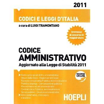 Codice Amministrativo 2011