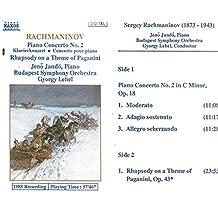 Klavierkonzert Nr. 2/Rhapsodie [Musikkassette]