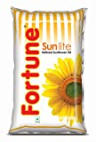 #8: Fortune Sunlite Refined Oil - Sunflower, 1L Pouch