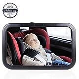 AutoEC Baby Auto Spiegel, Weitwinkel Rücksitz Spiegel, hinten zeigend Baby View Spiegel für Infant, Kleinkinder und Kind Sicherheit
