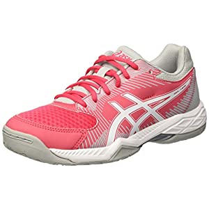 Asics Damen Gel-Rocket 8 Hallenschuhe, Rot (Rouge Red/Black/White 1990), 39.5 EU