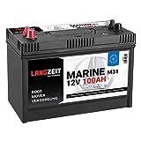 Boot Batterie 100AH Bootsbatterie Versorgungbatterie Mover Solar