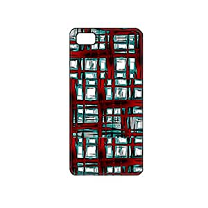 Vibhar printed case back cover for Micromax Unite 3 AbstractWindows