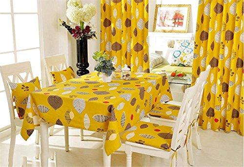 einfache moderne von Baumwolle Idylle Dorf Esstisch Tisch Teetisch Tischdecken Fluid Systems Französisch 140*220 A (Jason Halloween-musik)