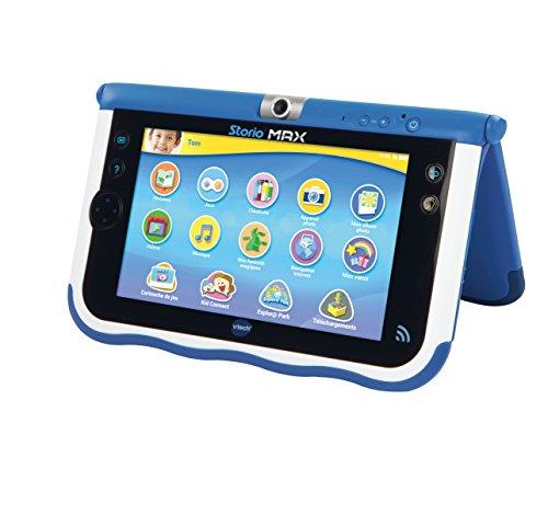 Vtech 166805 tablette tactile storio max 7 39 39 bleu for Housse storio max 7