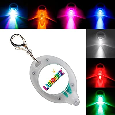 Lumeez® Clip On LED Safety Night Glow Light for Pet Collar produced by SKS - quick delivery from UK