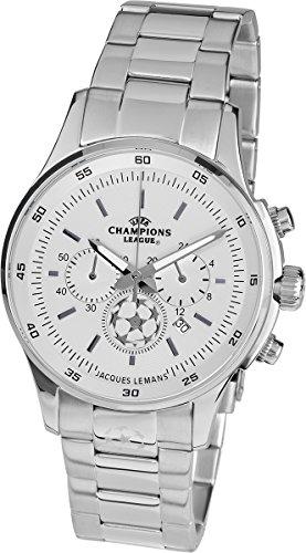 Jacques Lemans U-32F UEFA Champions League- Orologio da uomo