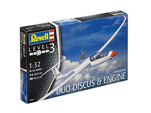 Revell Revell03961 Segelflugzeug Duo Diskus und Motor Modell Kit - 2