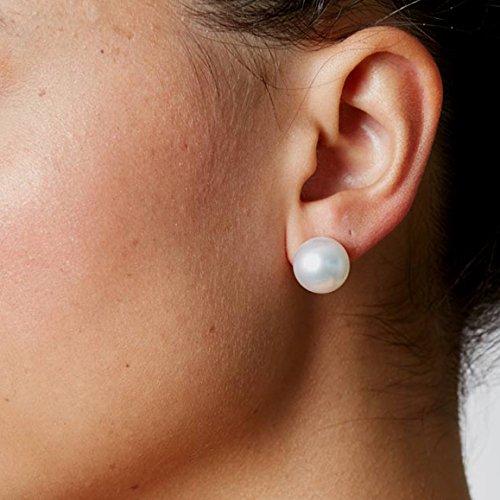 Grosse perlen ohrringe