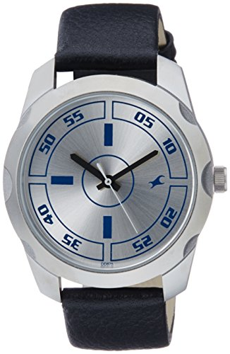 51vcx3FbzgL - 3123SL01 Fastrack Casual Silver Mens watch