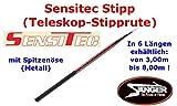 Sensitec Stipp (Teleskop-Stipprute 3,00 - 8,00m), Länge:7.00m