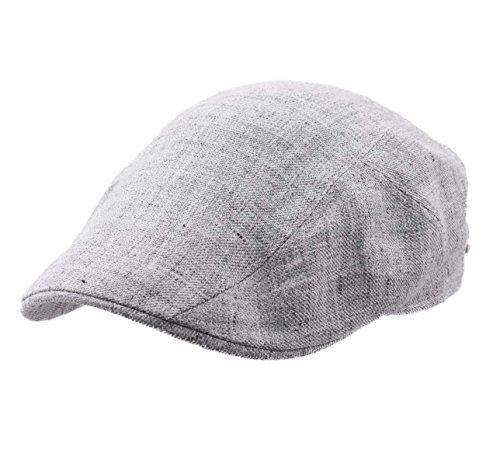stetson-beret-casquette-plate-ivy-cap-linen-taille-l
