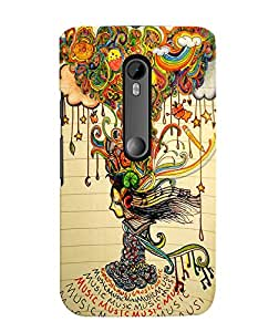 Citydreamz Colorful Abstract Pattern Hard Polycarbonate Designer Back Case Cover For Motorola Moto X Play (Moto XP)