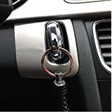 Car Inigation Key Hole Cover Trim For AUDI A4 B8 A5 8T S5 2008 - 2015