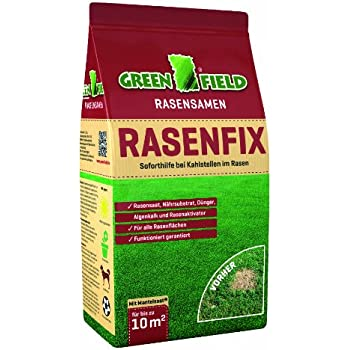 Greenfield 63311 RasenFix Rasenreparatur 1,5 kg für bis zu 10 qm