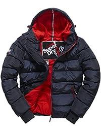 SUPERDRY Polar Sports Puffer, Abrigo Impermeable Para Hombre