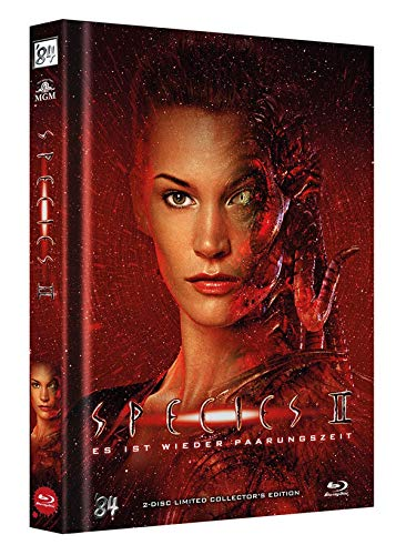 Species 2 (+ DVD) 2-Disc Limited Collectors Edition Mediabook (Cover B) - limitiert auf 333 Stk. [Blu-ray]