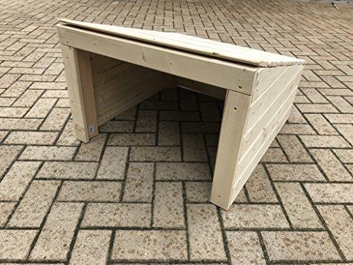 Mähroboter Garage Dach Carport Überdachung für Rasenroboter