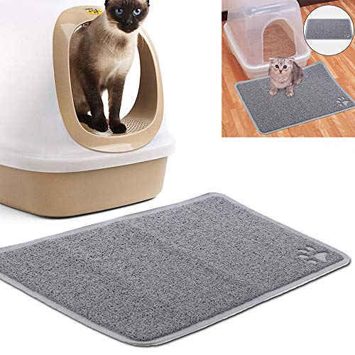 BALLSHOP Katzentoilettenvorleger Vorleger Katzentoilette Matte Katze Toilettenvorleger