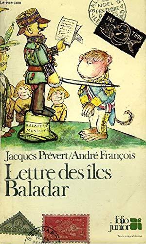 Lettre DES Iles Baladar par Prevert