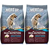 Meat Up Adult Dog Food, 1.2 kg (Buy 1 Get 1 Free)