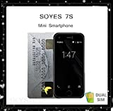 SKYSHOP FLYZONE SOYES 7S Mini Android Smartphone with 5.0MP Quad Core (Dual SIM, 1GB RAM 8GB ROM)