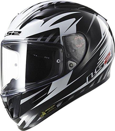 LS2 FF323 Arrow R Matrix Helm XL (61/62) (Kevlar Helm Xl)