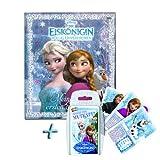 Die Eiskönigin Frozen Freundebuch + Top Trumps Quartettspiel