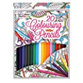 20 Professional Colour Therapy Colouring Pencil Crayons Artist Quality Anti Stress Relaxing Art Craft Adult