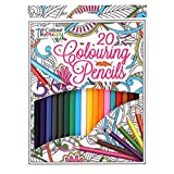 20 Professional Colour Therapy Colouring Pencil Crayons Artist Quality Anti Stress Relaxing Art Craft Adult - Concept4u - amazon.co.uk