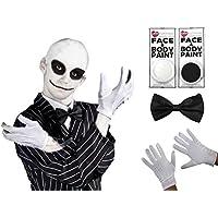 ILOVEFANCYDRESS Disfraz de Mister Jack y Sonido Navidad para Adulto. Ideal para Las Fiestas de
