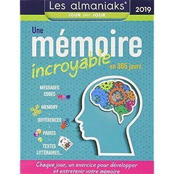 Almaniak Une mémoire incroyable en 365 jours 2019