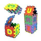 Spielzeug Oyedens 36pcs Baby Nummer Alphabet Puzzle Schaumstoffmatten PäDagogisches Spielzeug - 4