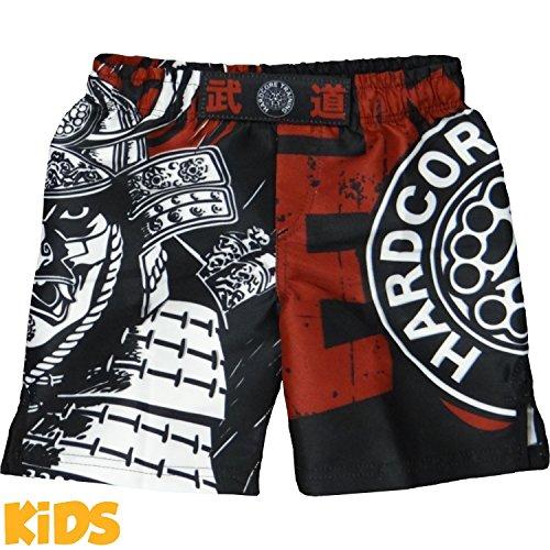 Kids Shorts Hardcore Training Budo MMA BJJ UFC Boys