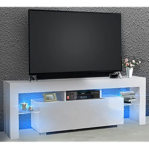 White Gloss Living Room Furniture Amazoncouk