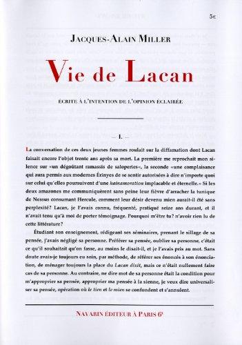 Vie de Lacan