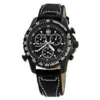 Reloj Timex Expedition de cuarzo para hombre con correa de piel, color negro de Timex Expedition