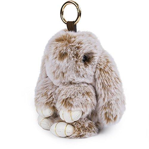Yodensity Süße Kaninchen Hase Schlüsselanhänger Taschenanhänger Auto Dekor als Geschenk Groß 16x4cm