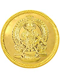 Joyalukkas 22k (916) 4 gm BIS Hallmarked Yellow Gold Precious Coin with Lord Ayappan Design