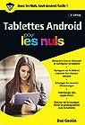 Tablettes Android édition Android 7 Nougat pour les Nuls par Gookin