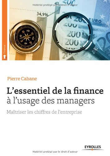 L'essentiel de la finance à l'usage des managers : Maîtriser les chiffres de l'entreprise par Pierre Cabane