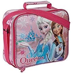 Portamerenda Borsetta Per Scuola Asilo Frozen Sisters Queen 46896 796
