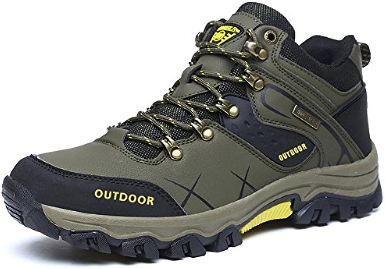 Gomnear Excursionismo Zapatos Hombres Verano Trekking Para caminar Alpinismo Zapato Respirable Ligero Al aire...