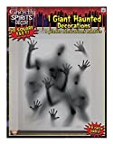 Forum Novelties Ghostly Indoor/Outdoor Spirits Wall Decoration, 5, Gray